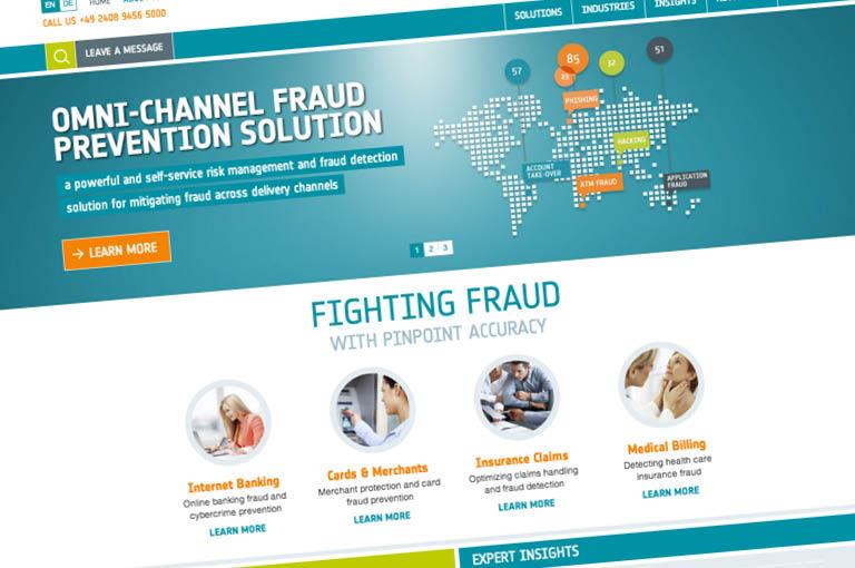 Tweetalige responsive website voor Riskshield