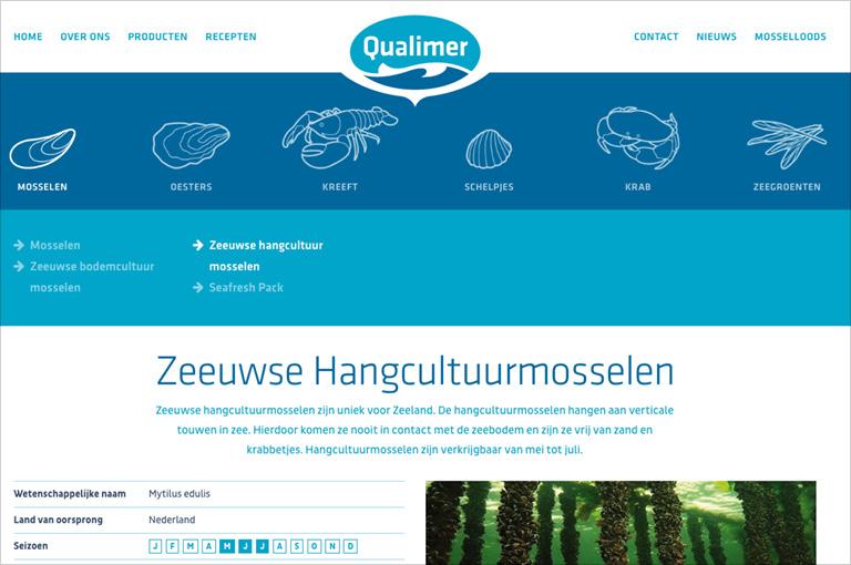 Meertalige responsive website voor Qualimer