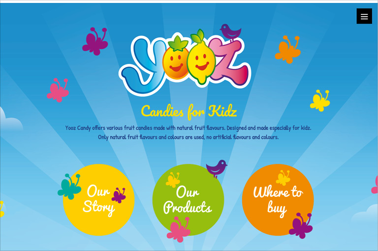Yooz candies for kidz