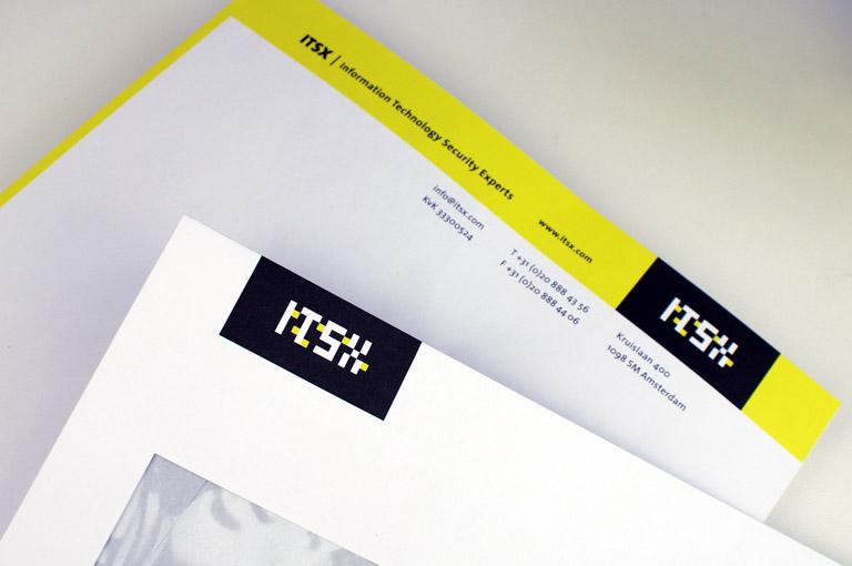 ITSX logo en huisstijl